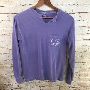 Comfort Colors Elephant Long Sleeve Tee Shirt